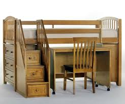 kids low loft bed. Fine Low School House Junior Store And Study Low Loft Bed With Stairs Pecan  NE Kids  To T