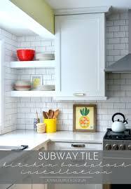 cost to install tile backsplash kitchen kitchen how to install a subway tile kitchen topic