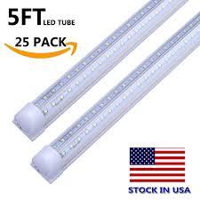 Led Tube Light 1 5 Feet Us 261 18 12 Off 1 5m Led Tube Light V Shaped Integrate Double Line Led Light Bulb 5ft 5 Foot Led Shop Lamp For Home Stock In Us Free Shipping In