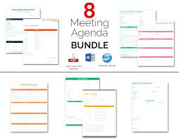 Microsoft Word Meeting Agenda Template Unique 48 Amazing Meeting Agenda Templates Bundle Microsoft Word Clntfrdco