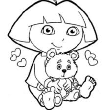 Educational fun kids coloring pages and preschool skills worksheets. Dora Coloring Pages Free Printables Momjunction