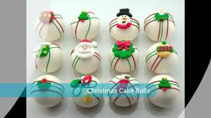 Decorating Cake Balls Decorative Christmas Cake Balls YouTube 69