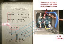 wiring how to wire up a single phase electric blower motor enter image description here