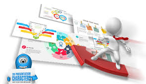 3d Flow Chart Powerpoint Presentermedia Powerpoint Templates 3d Animations And