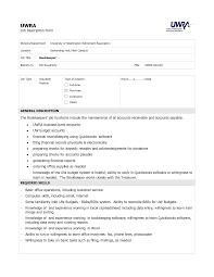 Bookkeeper Job Description Bookkeeper Job Description Pdf SampleBusinessResume 3