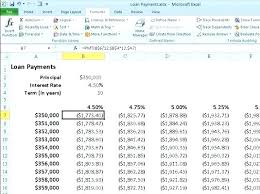 Amortization Calculator Excel Amazing Calculate Monthly Payment Excel Chookiesco