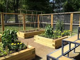 garden ideas raised vegetable garden along fence fresh beautiful backyard garden house design with wood