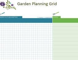 Garden Layout Template Garden Planner Garden Design Planner