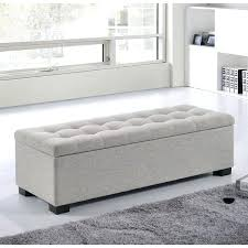 bedroom storage bench. Bedroom Ottomans Innovative Bed End Storage Ottoman Bench Also With A D