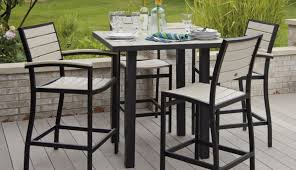 aluminum furniture dining black and modern patio outdoor cast chairs swivel table garden chair agreeabl set