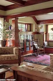 craftsman style living room furniture. our living room after restoration this woodwork was painted when we bought the house craftsman style interiorscraftsman furniture a