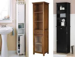 Modern Bathroom Storage Cabinet Tall Bathroom Storage Cabinets With Doors Best Home Furniture