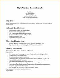 Cv For Flight Attendant No Experience Example Resume 7 Practicable