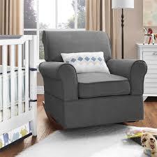 Rocking Couch Dorel Living Baby Relax Mackenzie Rocker Gray