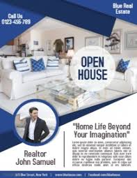 realtor open house flyers real estate flyer templates postermywall