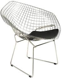 harry bertoia style  wire diamond lounge chair style  swivelukcom