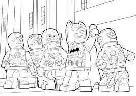 Our coloring pages are free and classified by theme, simply choose and print your drawing to color for hours! Lego Superhero Coloring Pages Best Coloring Pages For Kids