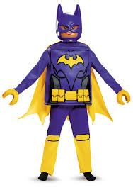 batgirl lego deluxe child costume
