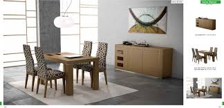 Contemporary Dining Table And Chairs - Modern wood dining room sets
