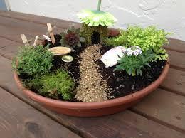fairy garden container ideas. Miniature DIY Fairy Garden Ideas Container