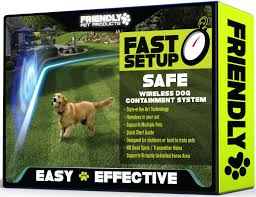 best wireless dog fence 100 safe reliable outdoor pet fence w radio in ground cord electric wifi transmitter competes w petsafe underground wire
