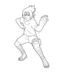 Naruto Vs Sasuke W Itachi Bg By Meibatsu Coloring Pages Copy Page