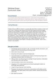 Resumes Personal Statements Personal Statement Resume Usa On A Statements Orlandomoving Co