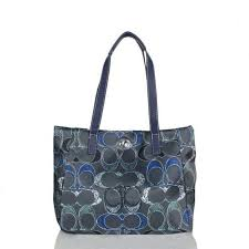 ... coupon code for coach poppy turnlock medium navy totes bwu 6564f b6247  canada coach poppy bowknot ...