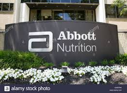 a logo sign outside of a facility occupied by abbott nutrition in columbus ohio on