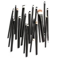 20pcs makeup brushes set powder foundation eyeshadow eyeliner lip brush professional makeup for mac makeup kit sosmetic tool in makeup brushes tools from