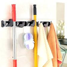wall mounted tool organizer wall tool rack organizer broom mop holder organizer garage storage hooks wall wall mounted tool