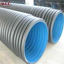 24 inch corrugated drain pipe sn8 plastic fittings