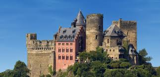 Hotel Castle Blue Castle Hotel And Restaurant Auf Schapnburg In Oberwesel At The