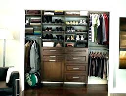 decorative closet systems allen roth closet and organizers organizer natural wood floating shelves kit bathrooms
