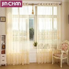 Sheer Curtains For Living Room Elegant Sheer Curtains Promotion Shop For Promotional Elegant