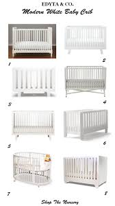 modern white crib best  modern crib ideas on pinterest modern