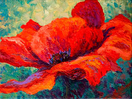 canvas on demand red poppy iii by marion rose painting print on canvas
