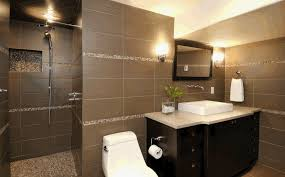 ideas for tile bathroom designblack brown tile bathroom design small bathroom tile ideas