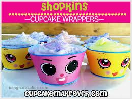 Shopkin Cupcakes Ideas Best Of Cake Box Labels Ivoiregion Cupcakes