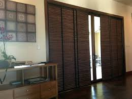 sliding glass door covering ideas woven wood panel tracks sliding glass sliding glass door curtains ideas