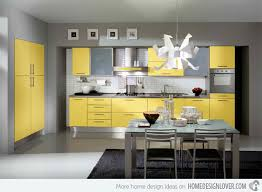 Cool Yellow Kitchen Ideas With DIY Hanging Lamp