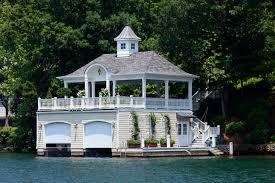 Lake Boat House Design