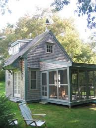 Small Picture Small Cottage with large screened porch have a walk out deck on