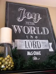 design with black chalkboard signs and candle holder also home decor