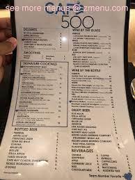 cafe 500 restaurant atlantic city