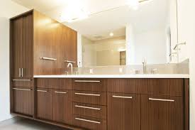 create contemporary look with mid century modern bathroom vanity large modern floating vanity with storage and double vessel sinks and faucets fixtures