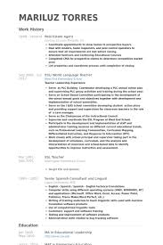 Great Real Estate Agent Resume Example With Work History Also