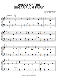 dance of the sugar plum fairy sheet music dance of the sugar plum fairy sheet music direct
