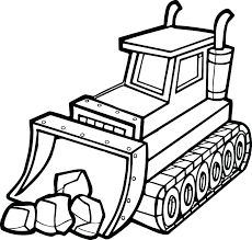 bulldozer coloring pages bulldozer coloring page construction equipment coloring pages best stone shovel bulldozer coloring page