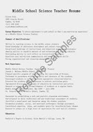 Resume Examples Science Teacher Resume Fresh Education Resume